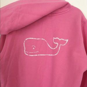  Vineyard Vines Pink Hooded Sweatshirt NWOT
